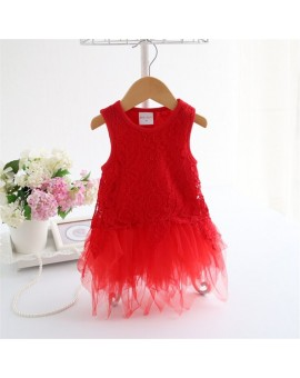 New Born Baby Dress Fashion Lace Baby Dress For girls Summer Kids Infant Clothes Baby Girls  Jumpsuit