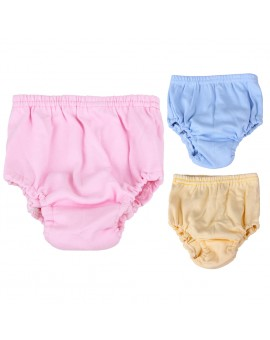 Baby Infants Breathable Soft Cotton Diaper Pants Reusable Nappy
