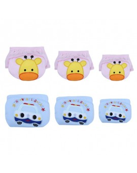 Baby Training Pants Cotton Baby Reusable Diapers Washable Cloth Diaper Cover Baby Nappies Learning Pants