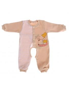 100% Cotton Baby Romper Long Sleeves Cartoon Printed Baby Girls Boys Pajamas Newborn Clothing
