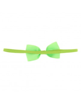 12pcs Cute Kids Headband Baby Girls Bowknot Headwear Solid Color Hair Bows Hair Accessories