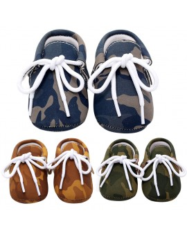 2017 New Baby Pediatric Comfortable Hard Shoes Children Anti-Slip Rubber Sole Camouflage Shoes