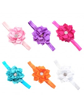 6pcs Fashion Princess Party Floral Headband Children Girl Flower Headbands Hair Accessories