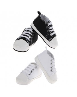 0-24M Spring/ Autumn 1 Pair Boy Girl Sports Shoes Lace-Up First Walkers Kids Children Shoes