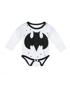 2017 New Baby Bodysuit Infant Toddlers Cartoon Bat Print Long Sleeve Jumpsuits