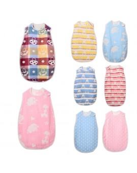 Baby Cartoon Sleeping Bag Envelope Infants Soft Cotton Swaddle Wrap Newborn Sleepsack
