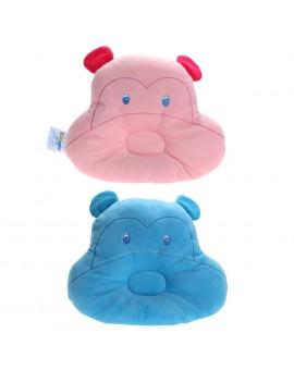 Cute Animal Monkey Baby Pillow Infant Velvet Prevent Flat Head Pillow Child Soft Sleeping Positioner