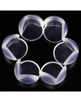 10 Pcs L Shape and Sphere Shape Kids Baby Table Corner Protectors Transparent Anti-Collision Angle