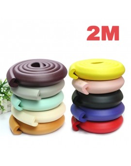 2M Baby Safe Desk Table Protective Strip Security Cushion Anti-crash Protector with Double-sided Adhesive