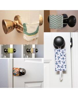 Cabinet Door Drawer Safty Cotton Lock Door Latch Pad Cover Cushion Door Close Kids Protector Pad Keep Quiet