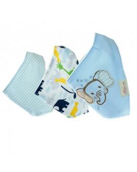 3Pcs/lot Baby Bibs Bandana  100% Cotton High Quality  Para Bebe Infant Saliva Towel Boys And Girls Gifts