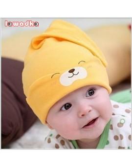 2015 New Baby Hat Autumn Winter Baby Beanie Warm Sleep Cotton Toddler Cap Toddler Infant Kids Newborn Clothing Accessories Hat