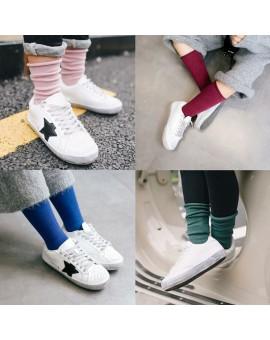2016 New Arrived Soft Cotton Children's Socks Solid Girls Boys Socks Warm Kids Socks For 1-10 Year old