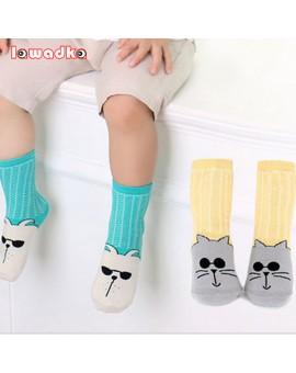 2016 New Spring Summer Baby Thin Cotton Girls Socks Fashion Meias Infantil Anti Slip Boys Socks