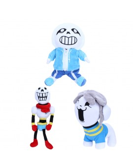 30cm 40cm Cartoon Plush Toy Baby Doll Boys Girls Skull Dog Style Dolls & Stuffed Toys for Kids Children Christmas Gift
