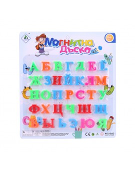 33pcs/set Russian Alphabet Fridge Magnets Plastic Toys Child Letter Learning Puzzle
