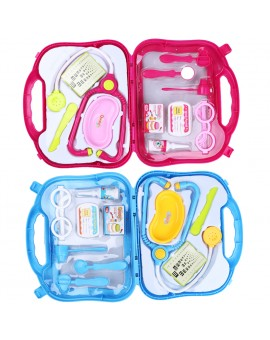 Kids Children Cosplay Doctor Nurse Role Play Toy Medical Kit Set Carry Case