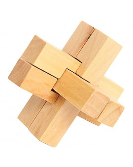 Kongming Luban Lock Kids Wooden Chinese Traditional Puzzle Adult Kids Brain Teaser Game Intellectual Tangram Jigsaw Puzzles