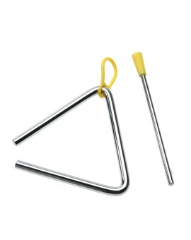 4 Inch Children Toy Musical Instrument Rhythm Band Triangle Educational Preschoo