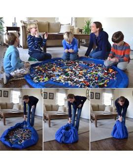 42cm/140cm Portable Kids Children Infant Large Storage Bags Toys Organizer Blanket Rug Outdoor Baby Play Mat