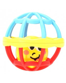 Soft Plastic Baby Toy Rattle Baby Grasping Hand Bell Ball Kids Intelligence Develop Educational Rolling Balls Infant Teether Toy