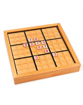 Wooden Sudoku Puzzle Adults Kids Logic Development Math Toy Jigsaw Puzzle Table Board Game Children Learning Educational Toys