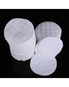 100pcs/set Soft Absorbent Cotton Washable Breastfeeding Breast Nursing Pads