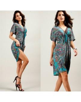 2017 Summer Maternity Dresses Breastfeeding Dress Nursing Printing V-neck Pregnancy Clothing Clothes For Pregnant Women Vestdios