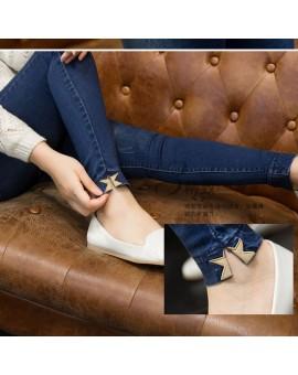 2016 Fashion Korean Nursing Maternity Jeans Pants For Pregnancy Clothes For Pregnant Women Denim Trousers Pencil Pants