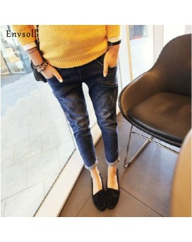 2017 New Pregnant Pants Maternity Jeans For Pregnant Women Skinny Denim Pants For Pregnancy Clothes Causal Blue Belly Trousers