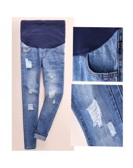 Maternity Pants  Summer Jeans Pregnancy Clothes For Pregnant Women Nursing Clothing Trousers Overalls Denim Prop Belly Legging