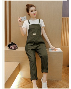 Overalls Trousers Maternity Pants For Pregnancy Clothes For Pregnant Women Suspenders Jumpsuit Mothers Gravidas Nursing Clothes